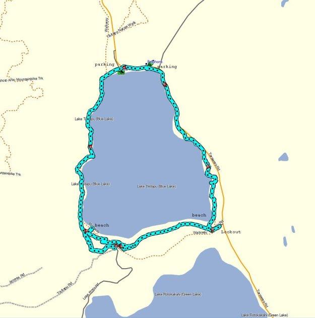 GPS_TikitapuBlueLake