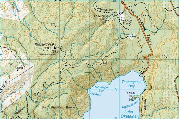 Lake Okataina to Mt Whakapoungakau   motowalknz